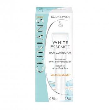 Крем-корректор для лица отбеливающий против пигментных пятен WHITE ESSENCE, Clinians