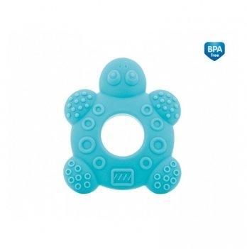 Силиконовый прорезыватель для зубов Canpol babies Черепаха, синий