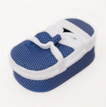 Люлька-переноска для новорожденных Бетис Джинсик, синий/белый