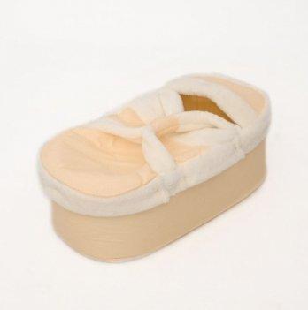 Люлька-переноска для новорожденных Бетис Совенятко, желтая