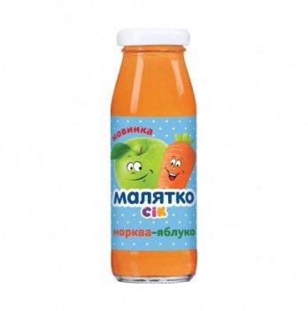 Сок Orhei-Vit Малятко яблоко-морковь 175 мл