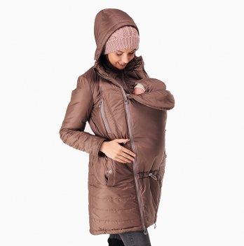 Куртка зимняя для беременных и слингоношения Love & Carry® Капучино, 3-в-1