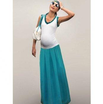Юбка для беременных Dianora бирюзовая 1327 0828