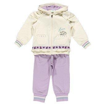 Спортивный костюм для девочки BRUMS, молочный/сиреневый