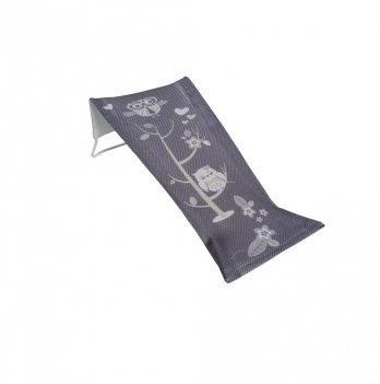 Лежак для купания высокий Tega baby Сова Серый SO-026-106