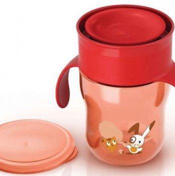 Чашка-поильник 260 мл, 12м+ Avent красный