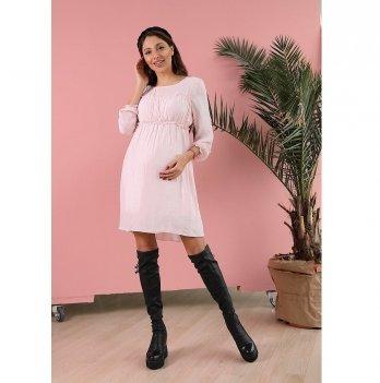 Платье для беременных To Be Пудровый 1392618