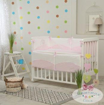 Комплект Tutti розовый, Маленькая Соня, 6 предметов