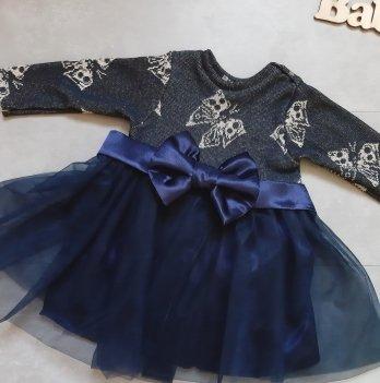 Платье PaMaYa Синий 14-43-1