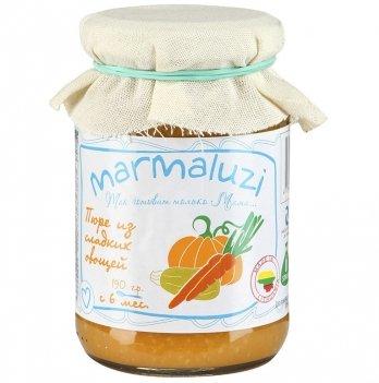 Пюре овощное Marmaluzi из сладких овощей 190 г