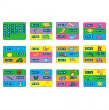 Набор для обучения Gigo Карточки для набора Занимательные буквы