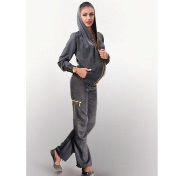 Спортивный костюм для беременных Dianora серый 1403 0000