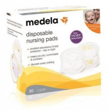 Одноразовые прокладки Disposable Nursing Pads NEW Мedela - 30шт.