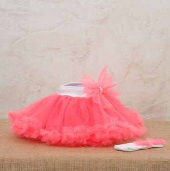 Костюм для девочки (юбка и повязка) Бетис, Веселка, розовый