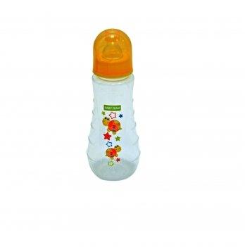 Бутылочка с силиконовой соской 0+ Baby Team 1412 черепашка 250 мл