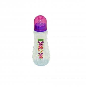 Бутылочка с силиконовой соской 0+ Baby Team 1412 зайчик 250 мл