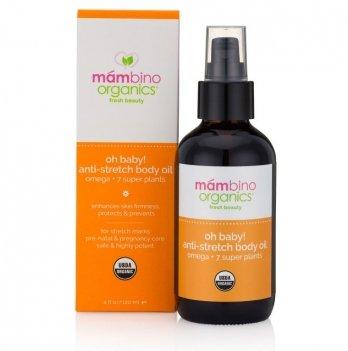 Масло для тела против растяжек  TM Mambino Organics Oh Baby! 120 мл