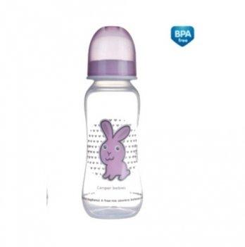Бутылочка пластиковая Canpol babies PP с рисунком, 250 мл