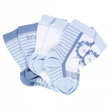 Носки голубые 3 пары, Brums Italy