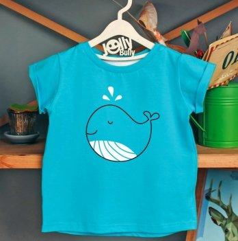 Фэмили лук, футболка Jolly Bully Семья китов, сын