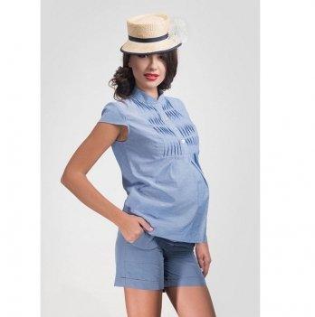 Шорты для беременных Dianora голубые 1421 0944