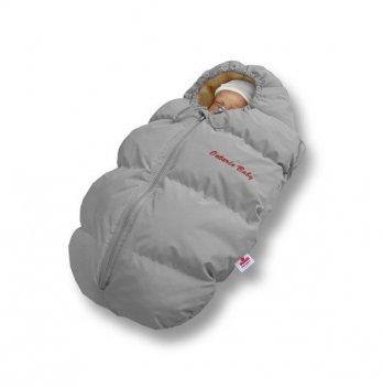 Пуховый конверт зима Baby Born Ontario Baby ART-0000235 серый
