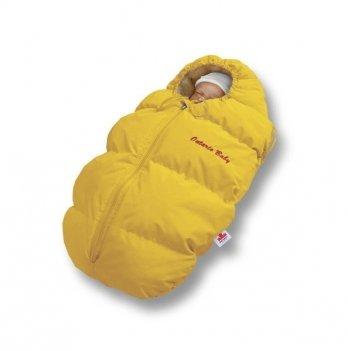 Пуховый конверт зима Baby Born Ontario Baby ART-0000230 желтый