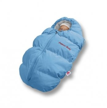 Пуховый конверт зима+деми Baby Born Ontario Baby ART-0000329 голубой