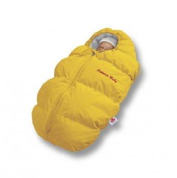 Пуховый конверт зима+деми Baby Born Ontario Baby ART-0000327 желтый