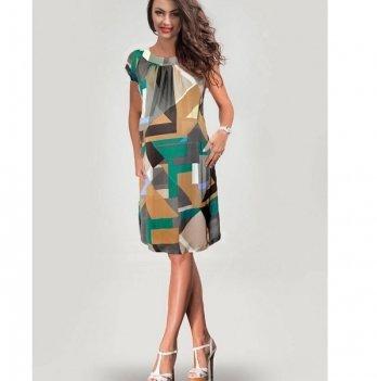 Платье для беременных Dianora Абстракция бежевое1435 0717