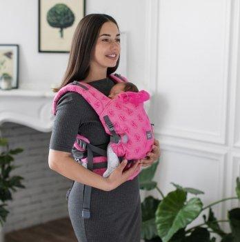 Эрго-рюкзак ONE Love & Carry LC522 пион
