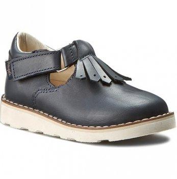 Туфли кожаные Mrugala синие