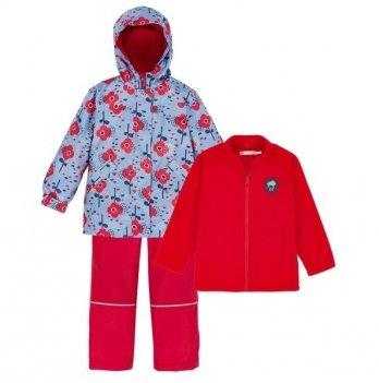 Демисезонный костюм 3 в 1 (куртка, штаны, флисовая кофта) Deux par Deux W 59-744