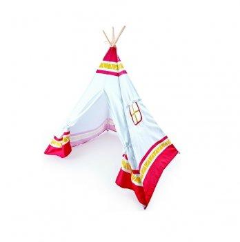 Детская игровая палатка Вигвам красная HAPE