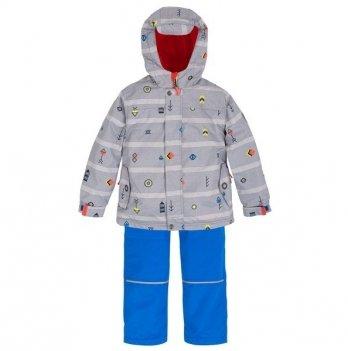 Демисезонный костюм (куртка и штаны + шапка) Deux par Deux W 58-PS18-032