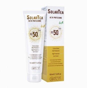 Крем солнцезащитный Bema Cosmetici Bio Solar Tea 1471 с высоким уровнем защиты SPF 50 150 мл
