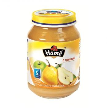 Пюре фруктовое Hame яблоко и груша 190 г