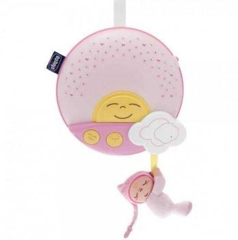 Музыкальный проектор на кроватку Chicco розовый
