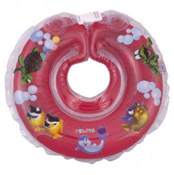 Круг красный Дельфин EuroStandard для детей от 0-36 месяцев и 2-22 кг.