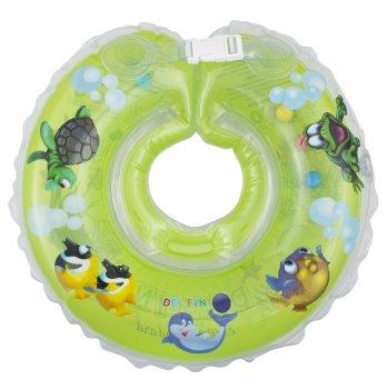 Круг зеленый Дельфин EuroStandard для детей от 0-36 месяцев и 2-22 кг.