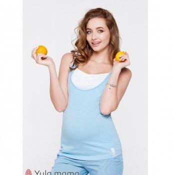 Майка для беременных и кормящих MySecret Tilla Голубой NR-20.043