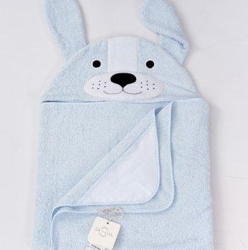 Полотенце ТМ Sasha, Собачка, голубое