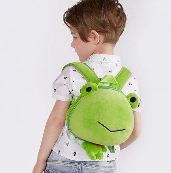 Детский рюкзак SuperCute Лягушонок, салатовый