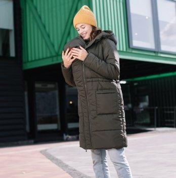 Слингокуртка зимняя 3 в 1 Love & Carry LCM2802 Хаки