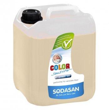 Органическое жидкое средство Sodasan Color-sensitiv, 1531,  5 л