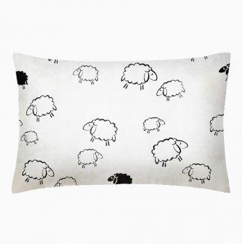 Детская наволочка бязь Cosas Sheep 60х40 см