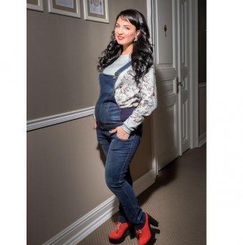 Комбинезон для беременных Dianora джинсовый 1539 0032
