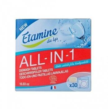 Таблетки для посудомоечной машины Etamine du Lys All in 1, 30 шт