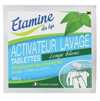 Таблетки для устранения пятен и отбеливание Etamine du Lys, 20 шт