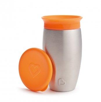Чашка-непроливайка Miracle 360 Munchkin оранжевый 296 мл.